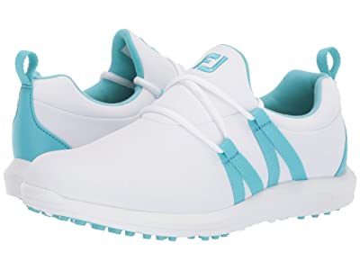 FootJoy Leisure Spikeless (White/Bluefish) Women