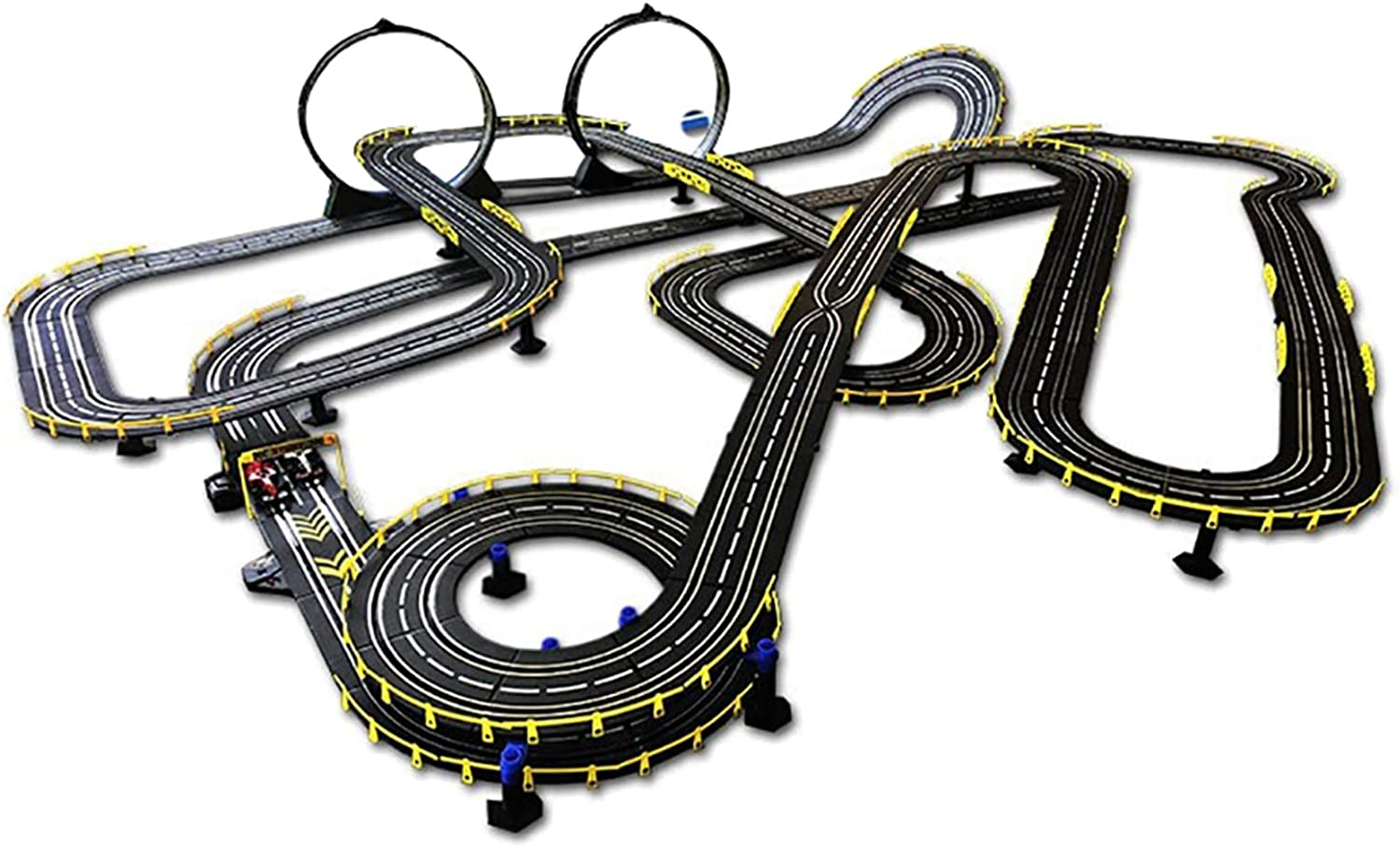 LINGLING Slot Car Race Tracks Track Racing 40% OFF Cheap Sale Fees free!! Children's Toys B