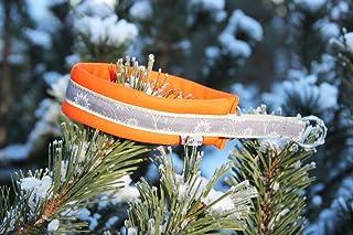 FinNero スポーツクッションスリップカラー[スノー] オレンジ サイズ2.5