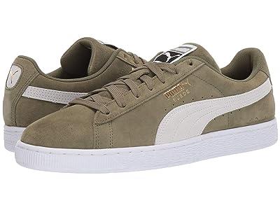 PUMA Suede Classic (Olivine/Puma Black) Shoes