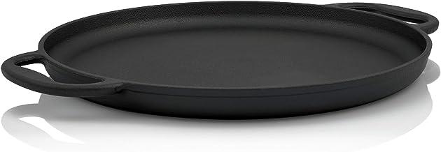 BBQ-Toro Servierpfanne | Durchmesser 35 cm - rund | Gusseisen Grillpfanne, Grillplatte, Plancha
