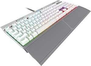 CORSAIR K70 RGB MK.2 SE Mechanical RAPIDFIRE Gaming Keyboard - USB Passthrough & Media Controls - PBT Double-Shot Keycaps - Cherry MX Speed - RGB LED Backlit