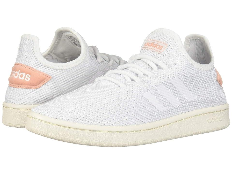 adidas Court Adapt (Footwear White/Footwear White/Dust Pink) Women