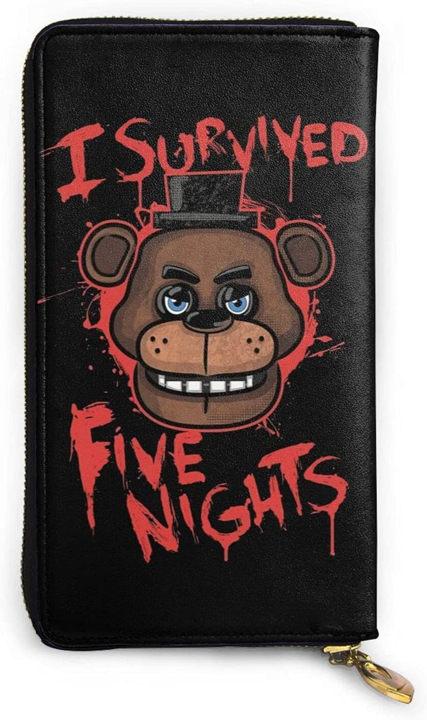 WONGTAL Five Nights at Freddy's Mens Limited Brand Cheap Sale Venue price sale Personalized Genuine Leathe