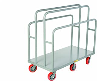 Little Giant LC-2448-6PY Lumber and Panel Cart, 3600 lbs Capacity, 48