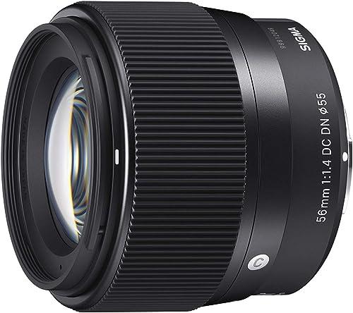 Sigma 56mm f/1.4 DC DN Contemporary Lens Lightweight, Outstading Sigma 56mm f/1.4 DC DN Contemporary Lens - Sony-E Mo...