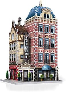 WREBBIT 3D Urbania Collection Hotel 3D Jigsaw Puzzle (295...