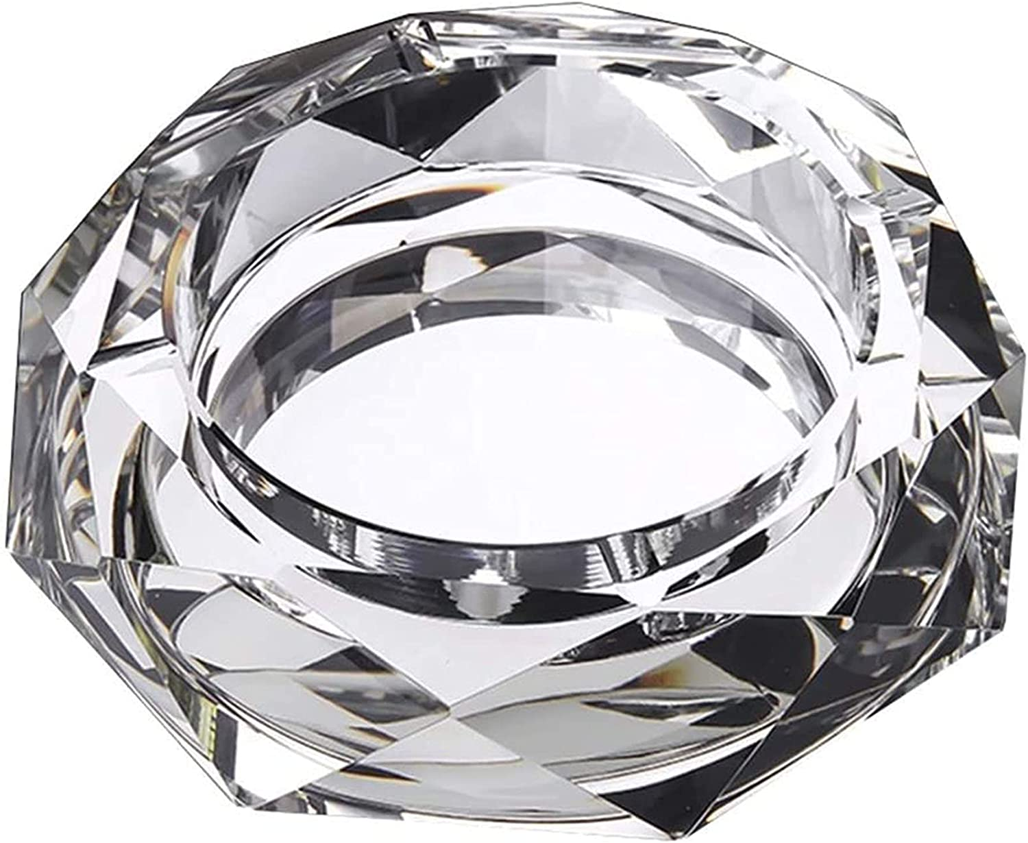 JXGXI Glass Ashtray Personality Trend Livi Multi-Function 5% Tampa Mall OFF Office