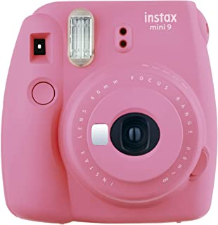 Fujifilm Instax mini 9 Instant Film Camera, Flamingo Pink