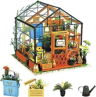 comprar comparacion Rolife 3D DIY Modelo de casa de muñecas con Luces Miniatura de Madera Kits de Muebles niñas-niños 14 15 16 17 18 años de E...