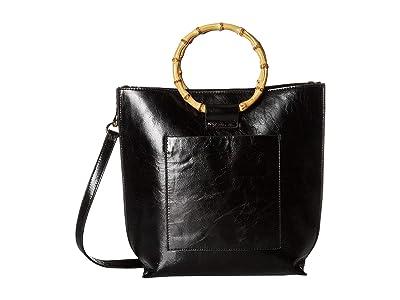 Vince Camuto Iggy Small Tote (Black) Tote Handbags