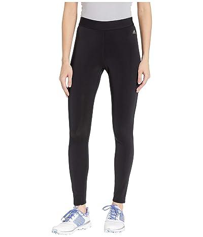 adidas Golf ClimaHeat(r) Leggings (Black) Women