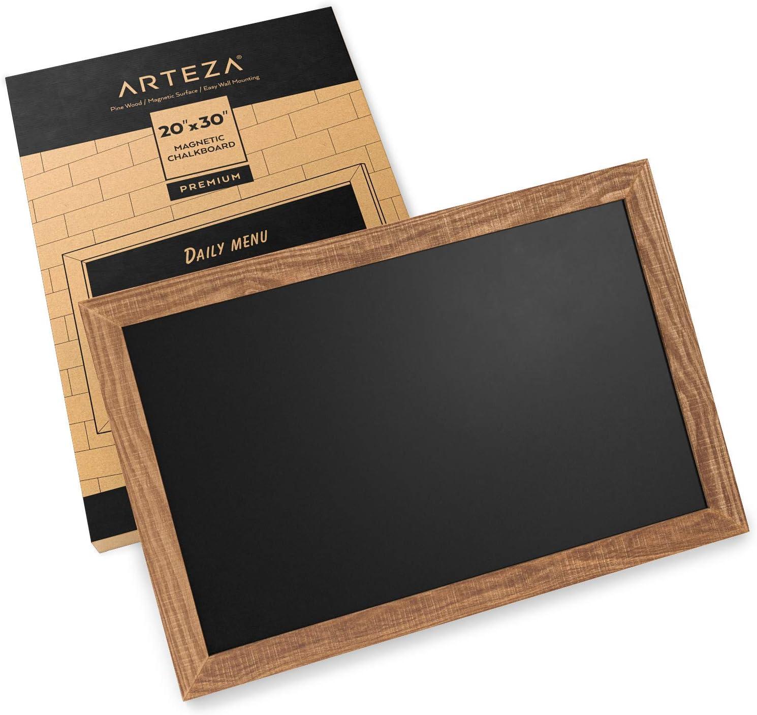 rustic wedding restaurant chalkboard playroom dec office decor message center 27x37magnet board SUPERSIZE framed magnetic chalkboard
