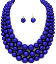 Best midnight blue necklace Reviews