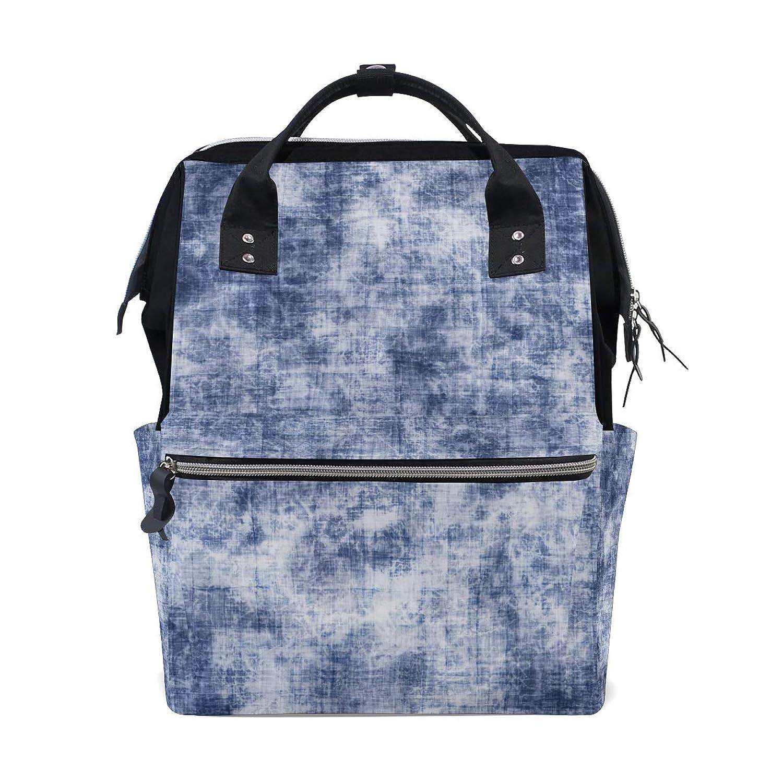 Blue Colorful Pattern School Backpack Large Capacity Mummy Bags Laptop Handbag Casual Travel Rucksack Satchel For Women Men Adult Teen Children