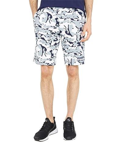 PUMA Core Camo All Over Print Shorts (Puma White All Over Print) Men