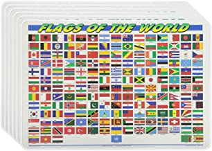 M. Ruskin Company Flags of The World Placemat