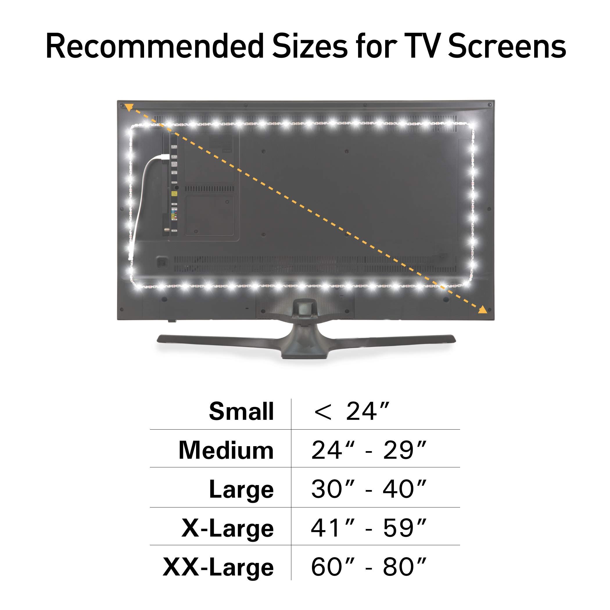 Luz de Fondo en Color Luminoodle para TV -Mando a Distancia ...