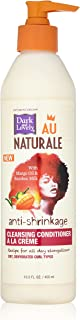 Dark and Lovely Au Natural Anti-Shrinkage Cleansing Conditioner A La Creme, 13.5 Fluid Ounce