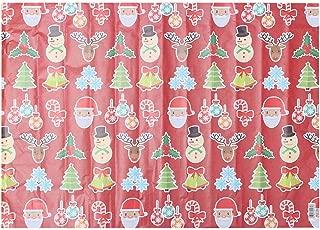 STOBOK Papel de Envoltorio de Scrapbooking del Papel de Envoltorio para Regalos de la Navidad 20pcs para el día de Fiesta de Navidad