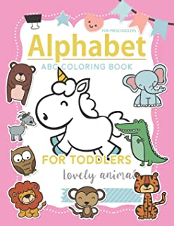 abc Coloring Book for Preschoolers: abc coloring books for toddlers high-quality black and white Alphabet coloring book fo...