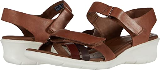 Brandy/Coffee/Mahogany Calf Leather/Cow Leather/Cow Nubuck