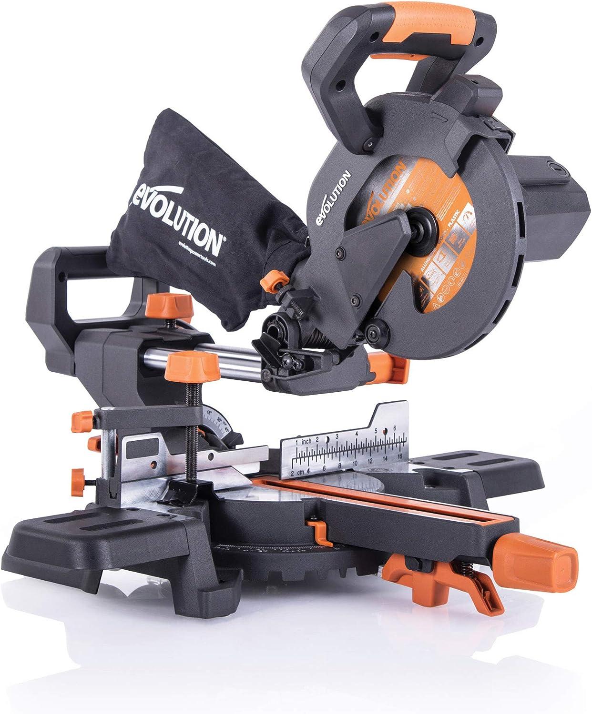 Evolution Power Tools R185SMS+