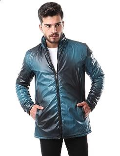 Andora Patterned Side Pockets Front Zip Jacket for Men