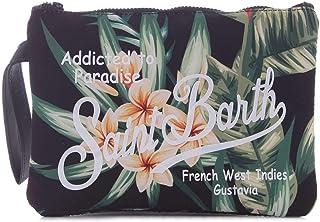 Mc2 Saint Barth Women's PARISIENNEHELICONIA00 Green Polyurethane Clutch