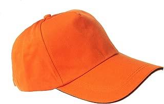 Unisex Classic Plain 100% Cotton Baseball Cap, Outdoor Activties, Low Profile Adjustable Baseball Hat