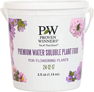 Premium Water Soluble Fertilizer, 2.5 lb. Container