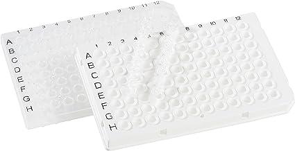 neolab 7–520396Well PCR placa de, media margen, transparente (50unidades)