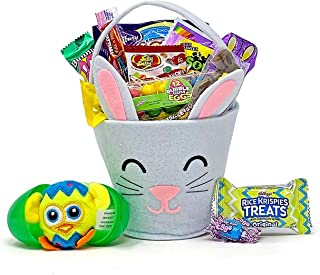 Adorable Easter Bunny Candy Basket for Kids Teens or Adults