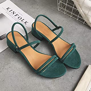 Flat outdoor slippers Sandals foot ring straps beaded Roman sandals fashion low slope with women's shoes low heel shoes