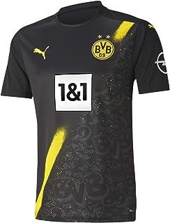 PUMA Herren BVB Away Shirt Replica Ss W/Sponsor Logo W/Opel T-Shirt