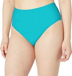ATHENA Women's High Waist Tummy Control Bikini Bottom