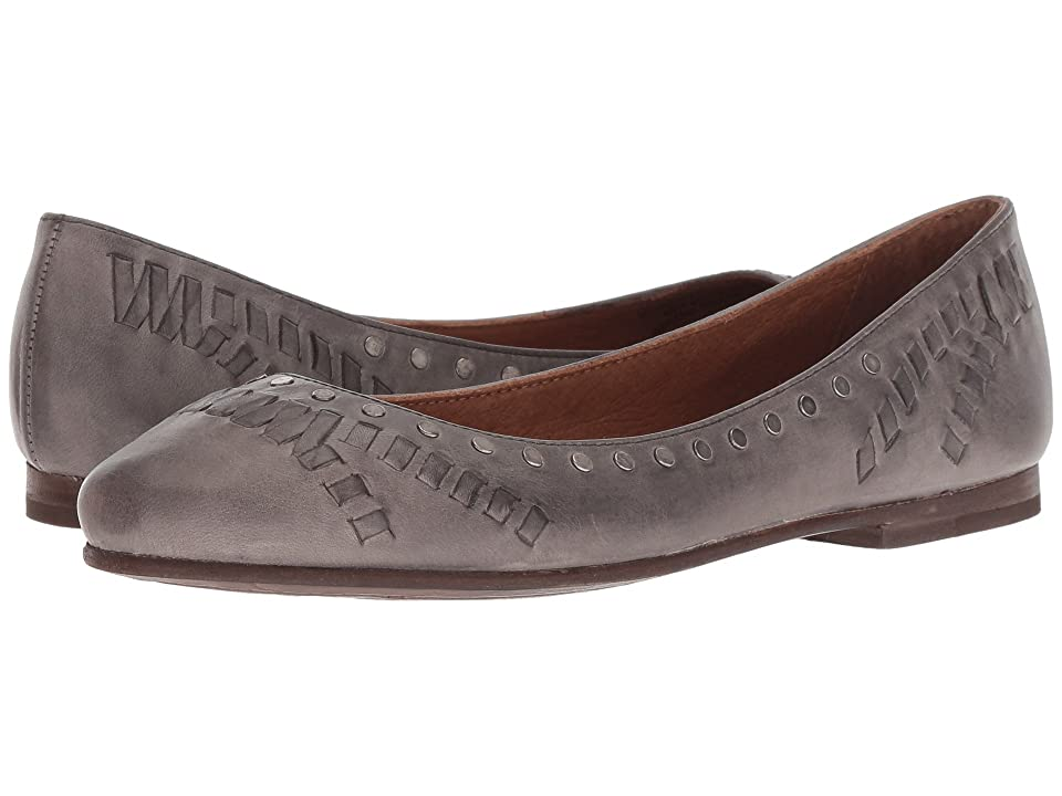Frye Carson Whip Stud (Grey Antique Pull Up) Women