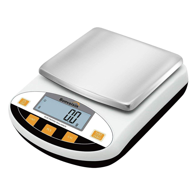 Buy Bonvoisin Analytical Electronic Balance Lab Scale 0 1g Accuracy Laboratory Balance Large Weighing Range Digital Kitchen Balance Scale Jewelry Gold Scale Precision Balance 5kgx0 1g Online In Germany B083nrtt1j