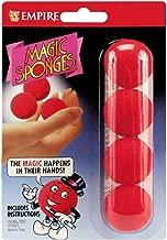Loftus Red Magic Sponge Ball Set, 1 1/4 inch Balls with Instructions