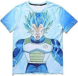 0213587e88c7 Dragon Ball 2019 Summer T Shirts Men O-Neck Cool 3D Print 3D T-