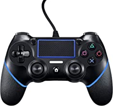 PlayStation4 Controller Wired Controller for Playstation 4 Dual Vibration Shock Joystick Gamepad for PS4/PS4 Slim/PS4 Pro ...