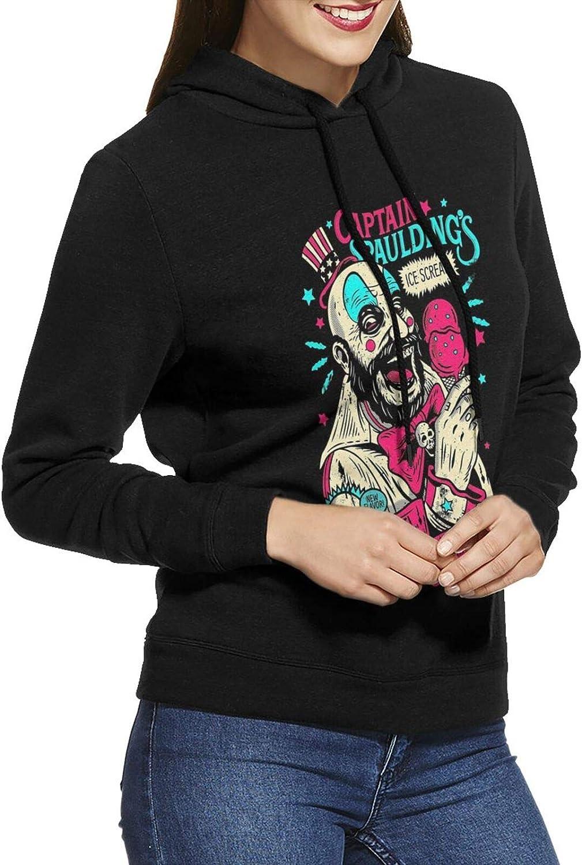 Captain Spaulding sale Our shop most popular Hoodie Womens Casual Sweatshirts Long Cotton S