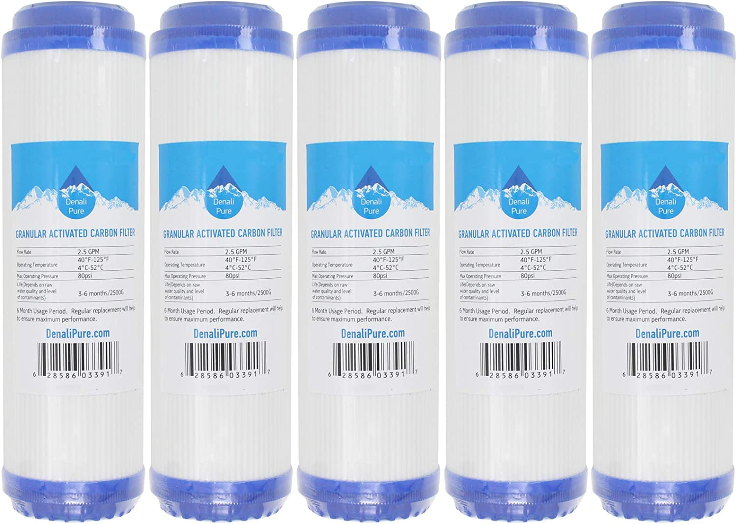 5-Pack Replacement for Aqua Max 41% OFF Pure Over item handling ☆ AP102T Granular Activated Carbo