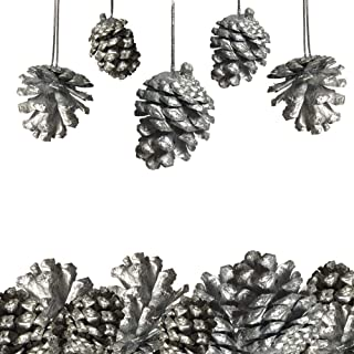 White Department 56 Pinecone 4.75 Hanging Ornament
