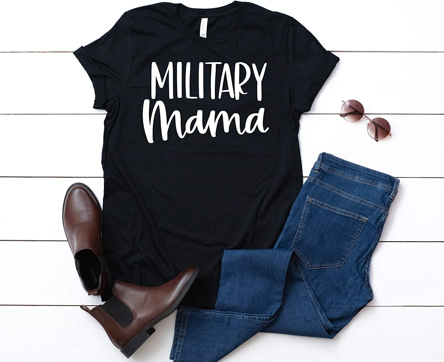 Military Ranking integrated 1st place Mama Womens Shirt Womans Air Force free Marines Army Navy