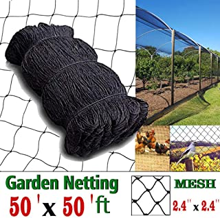 COMPATH Bird Netting Heavy Duty Garden Net Protect Plants and Fruit Trees Protective Netting 2.4
