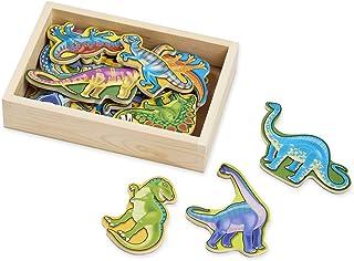 Melissa & Doug Wooden Dinosaur Magnets | Developmental Toy | Cognitive Skills| 2+ | Gift for Boy or Girl