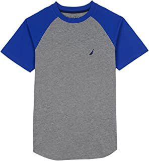Nautica Boys' Short Sleeve Raglan T-Shirt