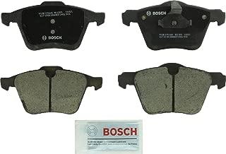Bosch BC1305 QuietCast Premium Ceramic Disc Brake Pad Set For Select Volvo S60, S60 Cross Country, S80, V60, V60 Cross Country, V70, XC70; Front