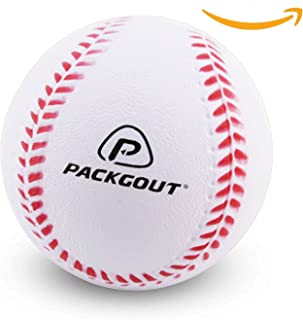 PACKGOUT Soft Baseballs, Foam Baseballs for Kids Teenager Players Training Balls (6pk/8pk/12pk), Reduced Impact …